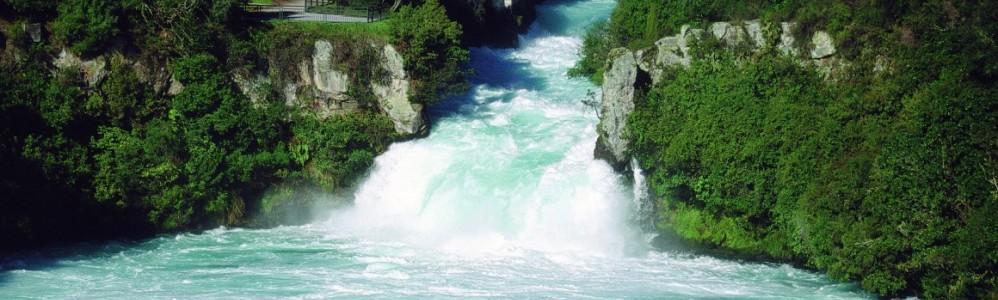 Huka Falls Waikato River
