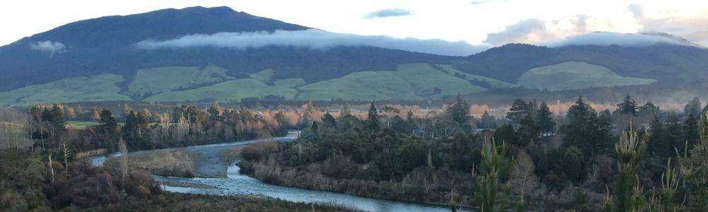 Tongariro River Mt Pihanga